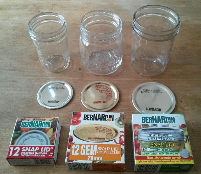 mason jar lid sizes. Black Bedroom Furniture Sets. Home Design Ideas